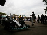 Nico Rosberg 2016 World Champion at The Goodwood Festival of Speed