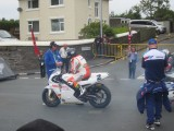Bruce Anstey on the Padgetts Yamaha YZR500 Classic TT Isle of man